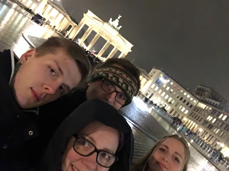 Unsere Familie in Berlin