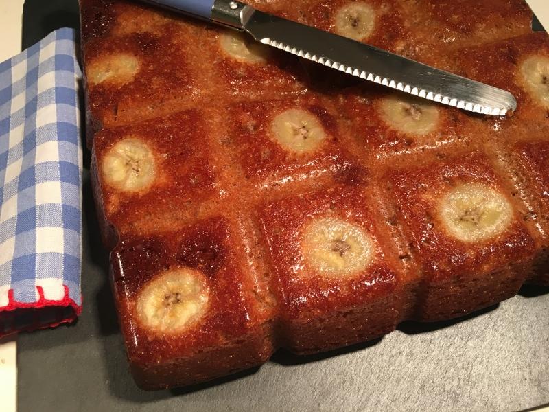 Banane-Karamell-Kuchen