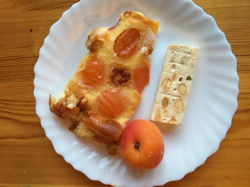 Clafoutis abricot
