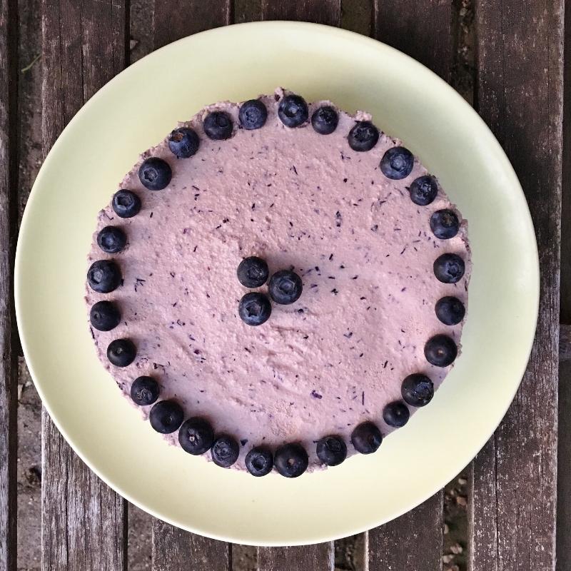 Blaubeeren Kuchen