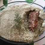 Entenbrust im Salzmantel