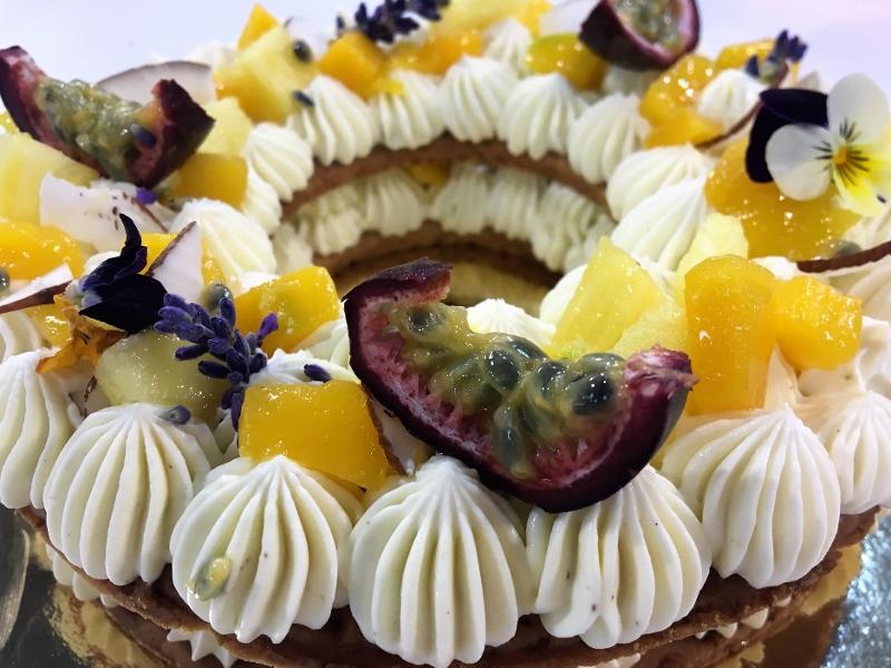 Number cake mit Mélanie