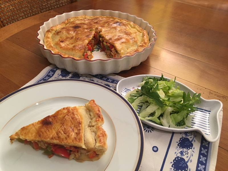 Thunfisch-Paprika-Pastete