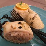Gefüllte Tintenfische