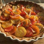 Tomaten-Senf-tarte