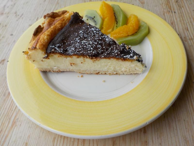 Tarte au fromage blanc à l'Alsacienne (elsässischer Käsekuchen) - Sonntagsrezept - Typisch Französisch!